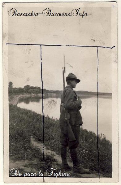 18-Soldat-de-paza-la-CetateaTighina-Ilustrata-Veche-Basarabia-Bucovina.Info_1