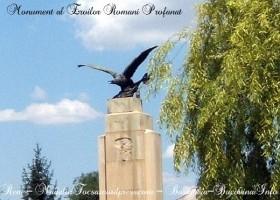 Monument al Eroilor Romani profanat in Reni