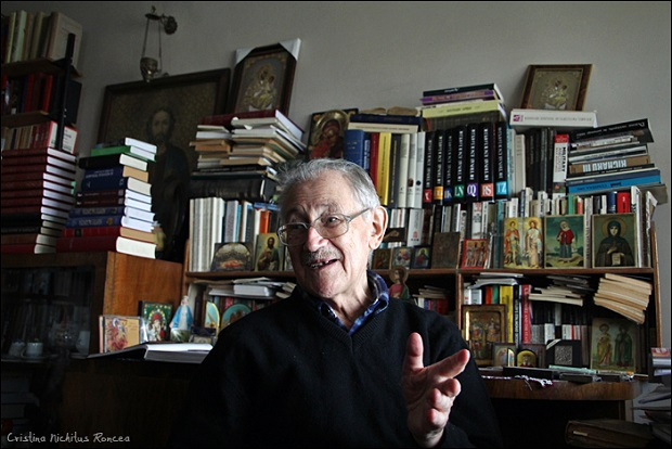 Profesorul Florin Constantiniu  - Foto Cristina Nichitus Roncea