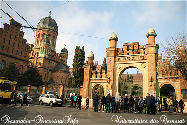 Universitatea din Cernauti, Bucovina de Nord, Basarabia-Bucovina.Info