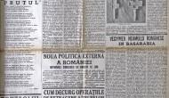 Articolul Basarabia si Bucovina – de Stelian Popescu – Cenzurat din Universul – Iunie 1940