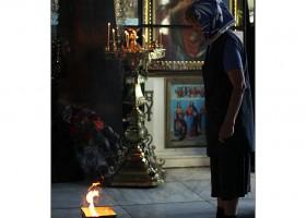 Icoane romanesti in Catedrala Acoperământul Maicii Domnului din orasul Ismail
