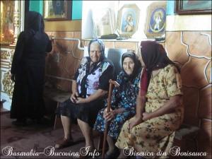 Slujba la biserica din satul Borisauca, regiunea Odessa, Basarabia de Sud