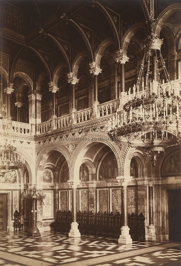 15 Palatul Mitropolitan din Cernauti -Fototeca Ortodoxiei - Basarabia-Bucovina.Info