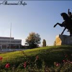 Statuia ecvestra a generalului Suvorov, Tiraspol, Transnistria.