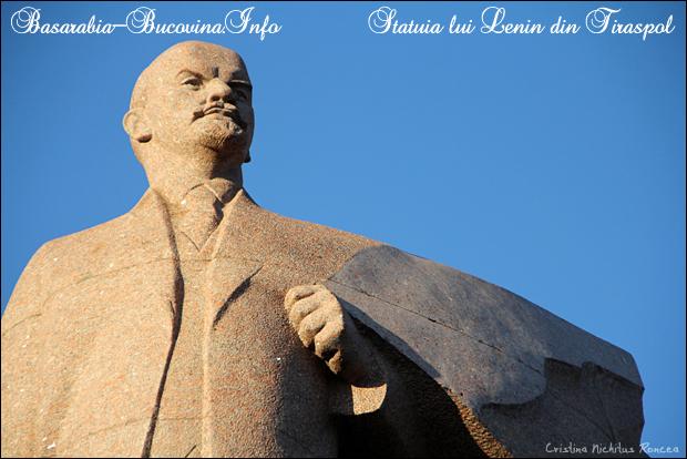 Statuia lui Lenin din Tiraspol. CRISTINA NICHITUS RONCEA / MEDIA