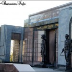 Monumentul separatistilor transnistreni, Tiraspol, Transnistria.