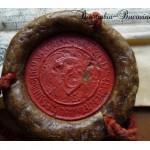 6 Pecetea lui Stefan cel Mare si Sfant 1491 - Arhivele Nationale ale Romaniei 5 - Basarabia-Bucovina.Info