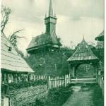 1 Biserica de Lemn din Apsa de Jos - 1561- Maramuresul Istoric - Transcarpatia -Carte Postala Veche - Basarabia-Bucovina.Info