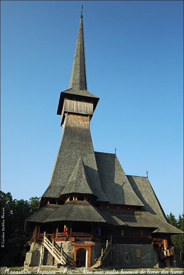 15 Biserica de lemn a Manastirii Sapanta-Peri Sf Arh Mihail - 78 metri - Foto Cristina Nichitus Roncea - Basarabia-Bucovina.Info