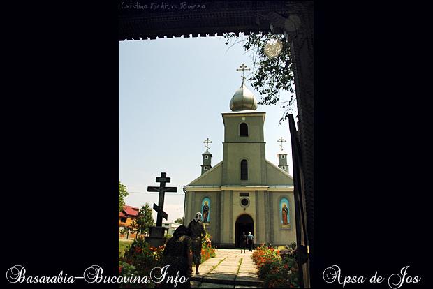 Biserica Ortodoxa din Apsa de Jos 0 - Maramuresul Istoric - Transcarpatia -Basarabia-Bucovina.Info