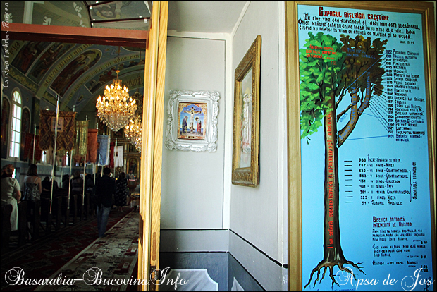 Biserica Ortodoxa din Apsa de Jos 1 - Maramuresul Istoric - Transcarpatia -Basarabia-Bucovina.Info