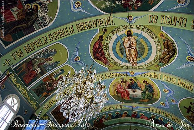 Biserica Ortodoxa din Apsa de Jos 3 - Maramuresul Istoric - Transcarpatia -Basarabia-Bucovina.Info