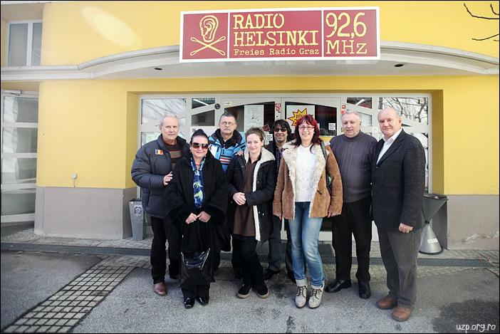 3 Delegatia UZP la Radio Helsinki, Graz - Premiile Uniunii Ziaristilor Profesionisti pentru Basarabia-Bucovina.Info