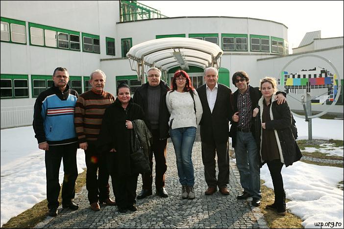 4 Delegatia UZP la televiziunea ORF, Graz - Premiile Uniunii Ziaristilor Profesionisti pentru Basarabia-Bucovina.Info