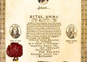 Basarabia, omagiata la 95 de ani de la Unirea cu Tara la Gala Premiilor Uniunii Ziaristilor Profesionisti din Romania. FOTO / VIDEO