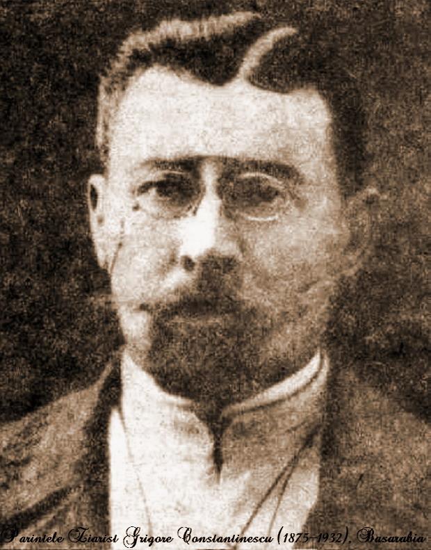 01 Parintele ziarist Grigore Constantinescu - Glasul Basarabiei - Basarabia-Bucovina.Info