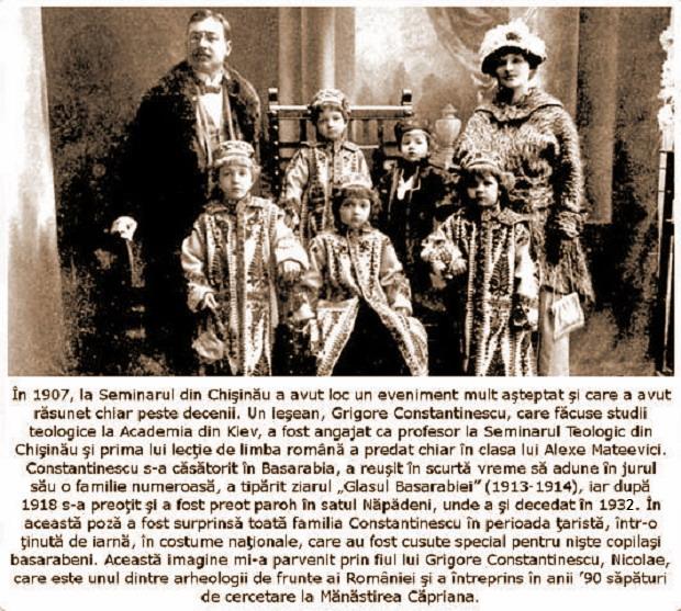 1 Parintele ziarist Grigore Constantinescu si familia sa - Glasul Basarabiei - Basarabia-Bucovina.Info