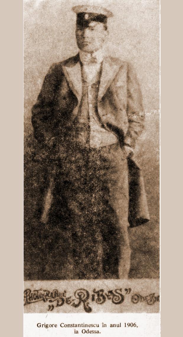 24 Preotul ziarist Grigore Constantinescu la 1906 la Odessa - Glasul Basarabiei - Basarabia-Bucovina.Info