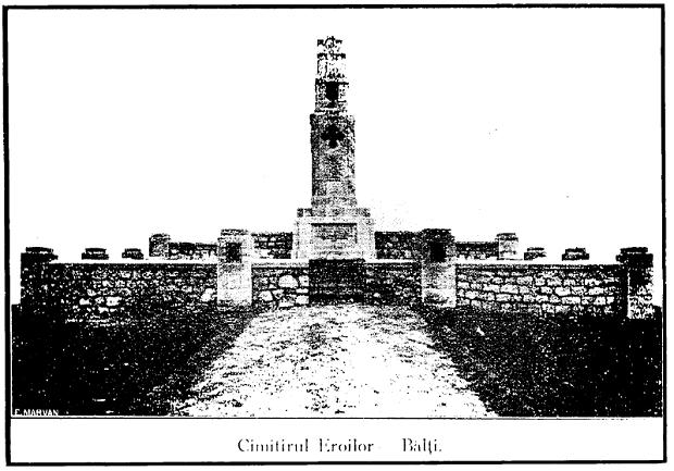 Cimitirul Eroilor - Balti - Basarabia-Bucovina.Info