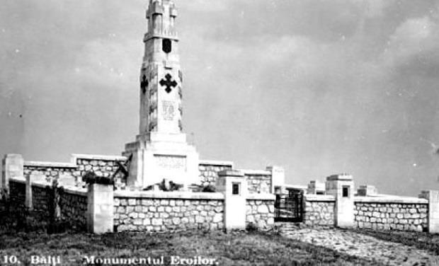 Monumentul In Memoriam Veteranii Romaniei - Cimitirul Eroilor Balti