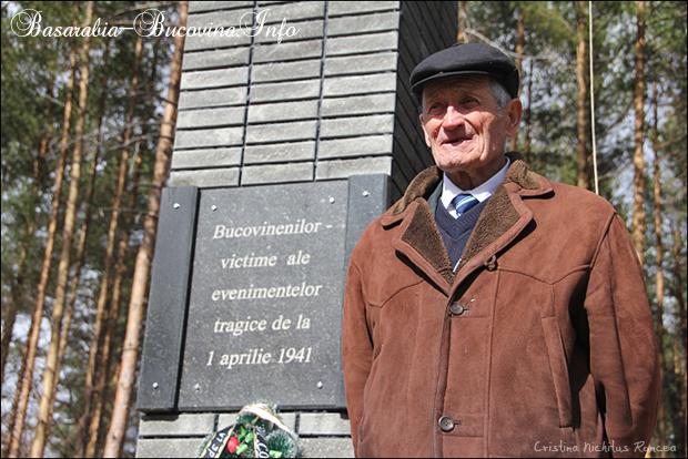 Petru Hutanu - supravietuitor al Masacrului de la Fantana Alba - Katyn-ul romanesc - 1 Aprilie 1941 - Basarabia-Bucovina-Info