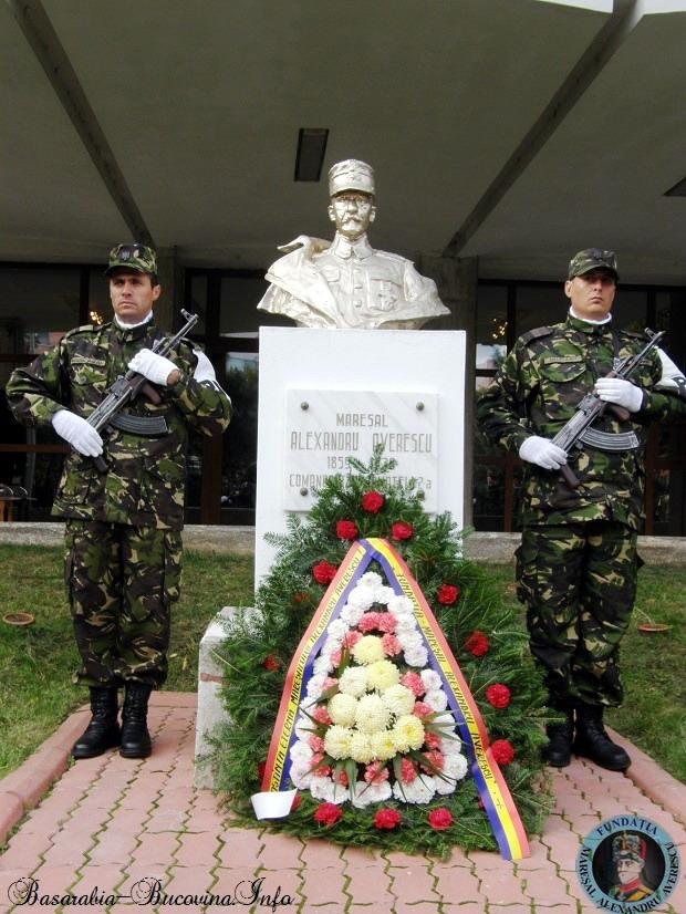 Onor la Maresal Fundaţia Mareşal Alexandru Averescu via Basarabia Bucovina Info