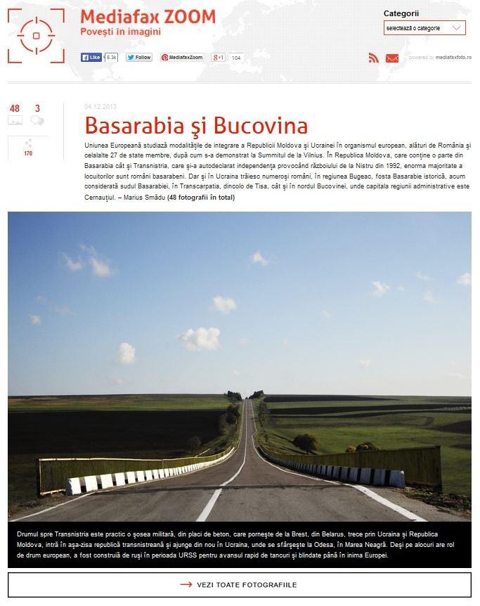 Basarabia Bucovina Info de Cristina Nichitus Roncea pe Mediafax Zoom