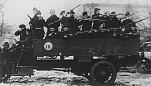 Brigazile rosii ale teroristilor bolsevici