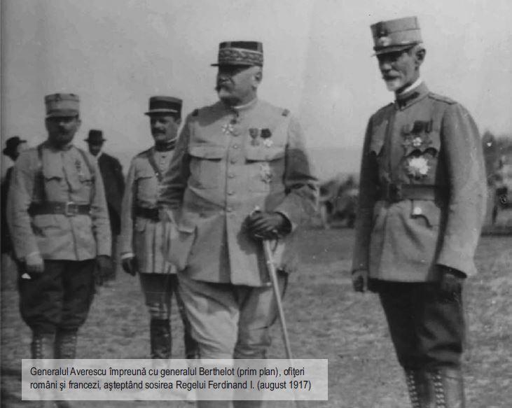 Generalii Henri Berthelot si Alexandru Averescu - 1917 - Basarabia-Bucovina.Info
