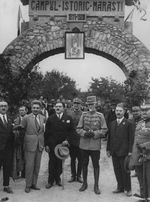 Maresalul Alexandru Averescu - Campul Istoric Marasti - Basarabia-Bucovina.Info