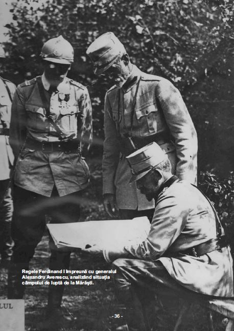 Maresalul Averescu si Regele Ferdinand la Marasti - Basarabia-Bucovina.Info