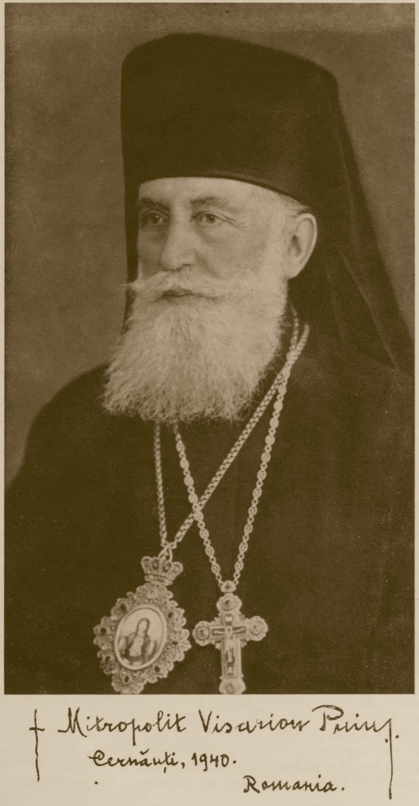 Mitropolitul Visarion Puiu - Basarabia-Bucovina.Info