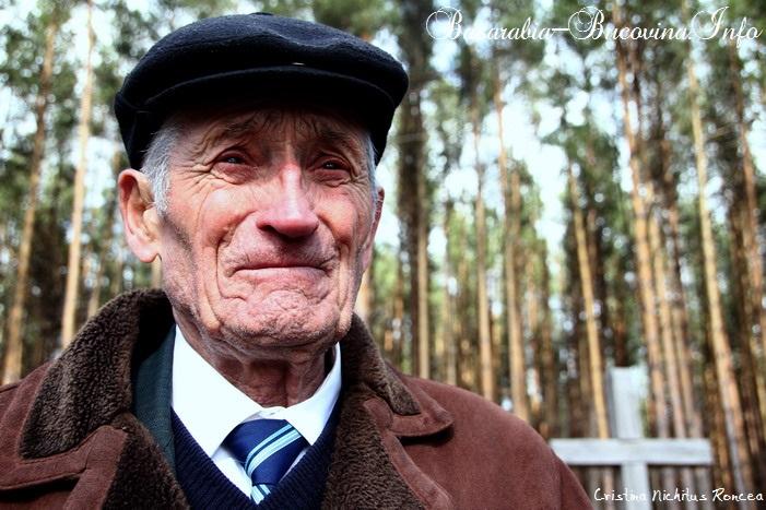 Petre Hutan - Supravietuitor al Masacrului de la Fantana Alba - Foto Cristina Nichitus Roncea - Basarabia-Bucovina.Info