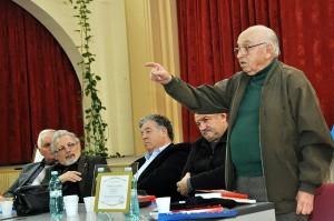 Dl Vasile Ilica, Vasile Tarateanu si Teodor Ardelean - Foto Gheorghe Petrila - Basarabia-Bucovina.Info