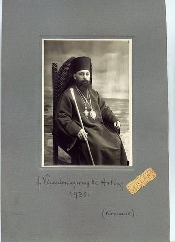 1930, Visarion Puiu - Episcop de Hotin - Basarabia-Bucovina.Info