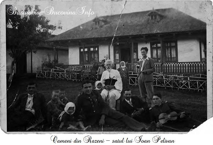 Case si oameni din Razeni - satul lui Ioan Pelivan - Basarabia-Bucovina.Info