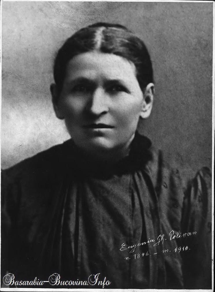 Eugenia Ghe Pelivan - mama lui Ioan Pelivan - Basarabia-Bucovina.Info