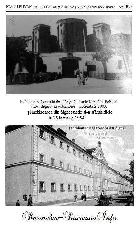 Inchisoarea din Chisinau si din Sighet Basarabia-Bucovina.Info