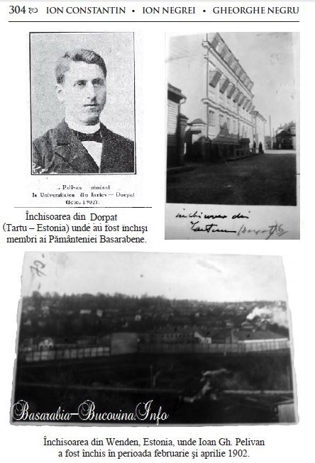 Inchisorile lui Ioan Pelivan - Basarabia-Bucovina.Info
