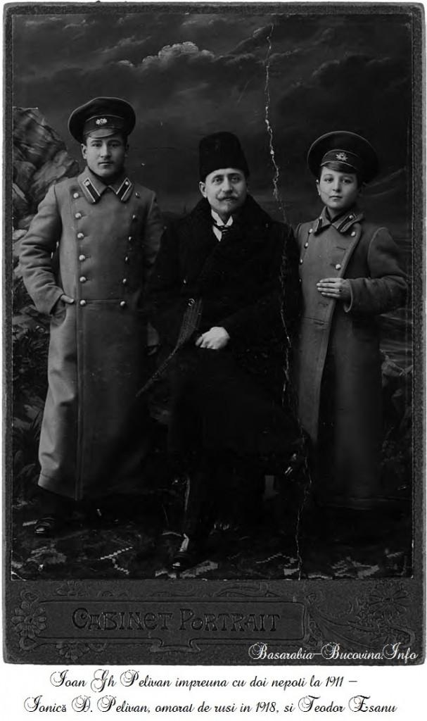 Ioan Gh Pelivan - Ionică D. Pelivan si Teodor Esanu - Basarabia-Bucovina.Info