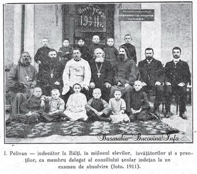 Ioan Pelivan Judecator la Balti circa 1911 - Basarabia-Bucovina.Info