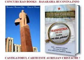 Castigatorul Concursului Rao Books – Basarabia-Bucovina.Info. EXCLUSIV: Cum a fost eliberat Igor Smirnov. Tradarea lui Snegur. ANEXELE volumului generalului Ion Costas. DOCUMENTE